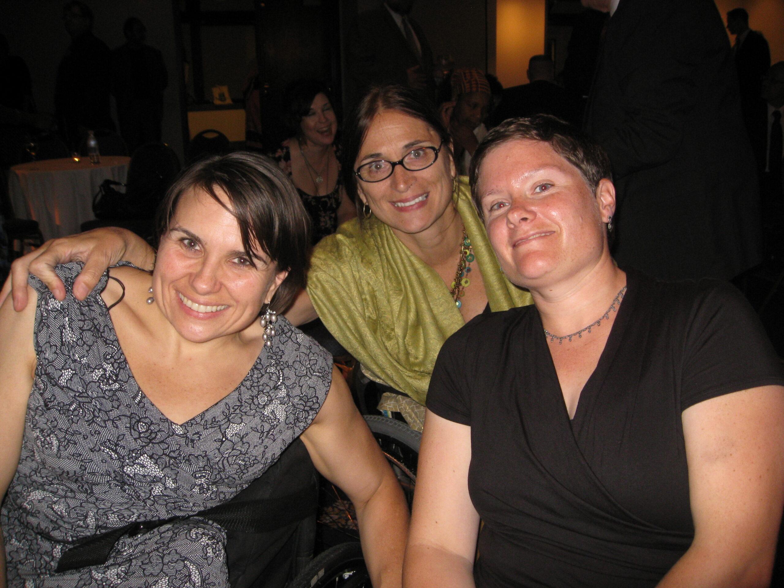 Karen Tamley, Marca Bristo and Daisy Feidt
